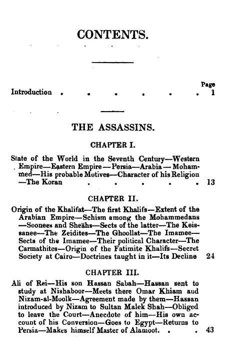 [Contents 1 of 7] from Secret Societies of the Middle Ages by Thomas Keightly