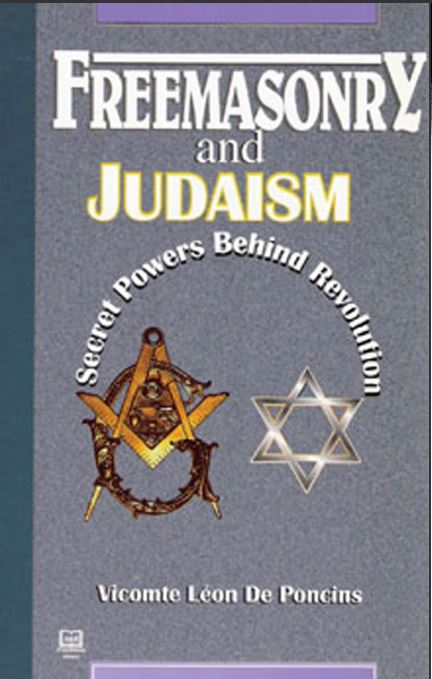[Cover] from Freemasonry and Judaism by Leon de Poncins