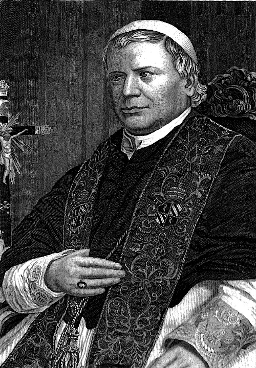 [Illustration] from Life of Pope Pius IX by J. G. Shea