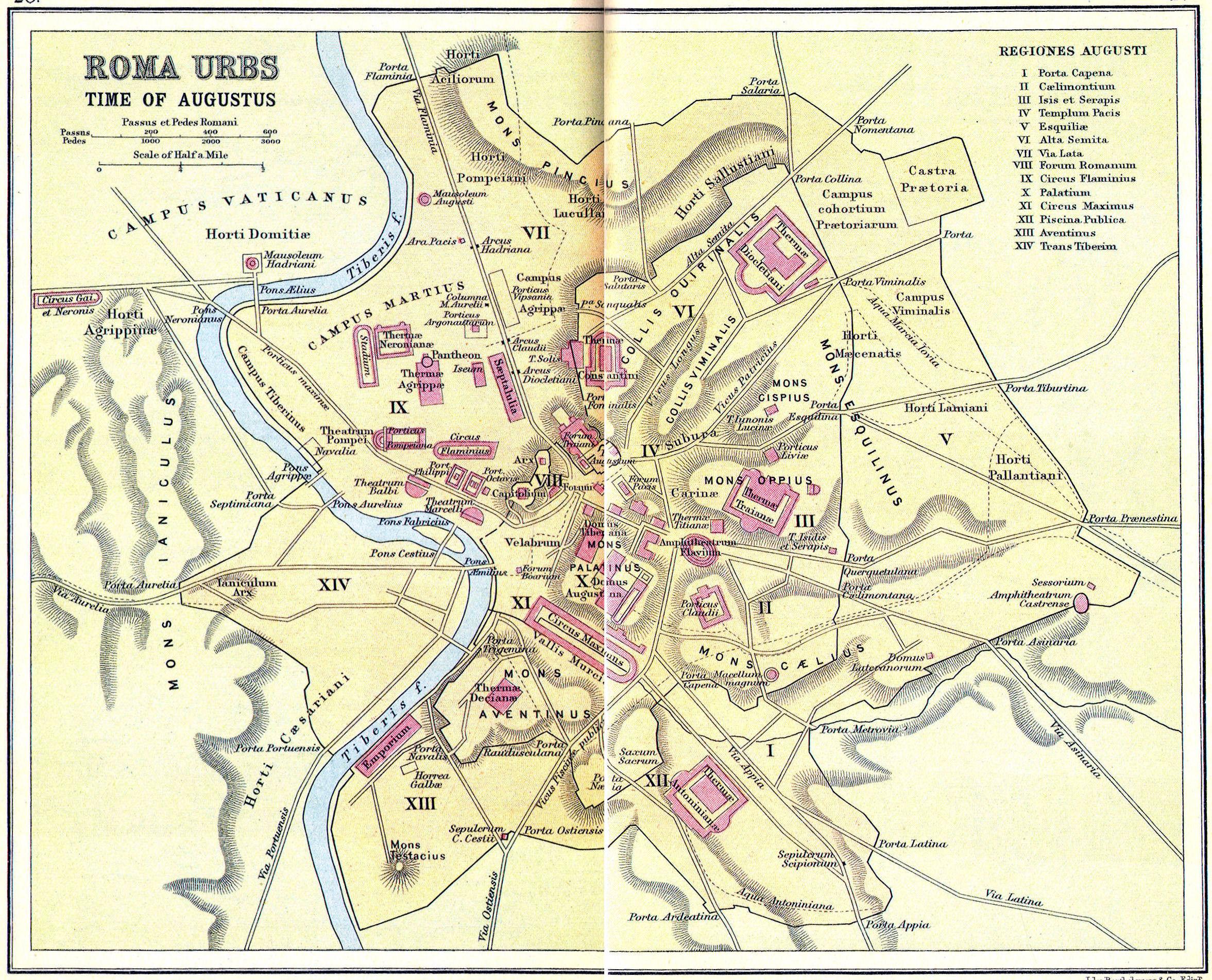 mapa de roma Tile Museum   4.09 project world history mapa de roma