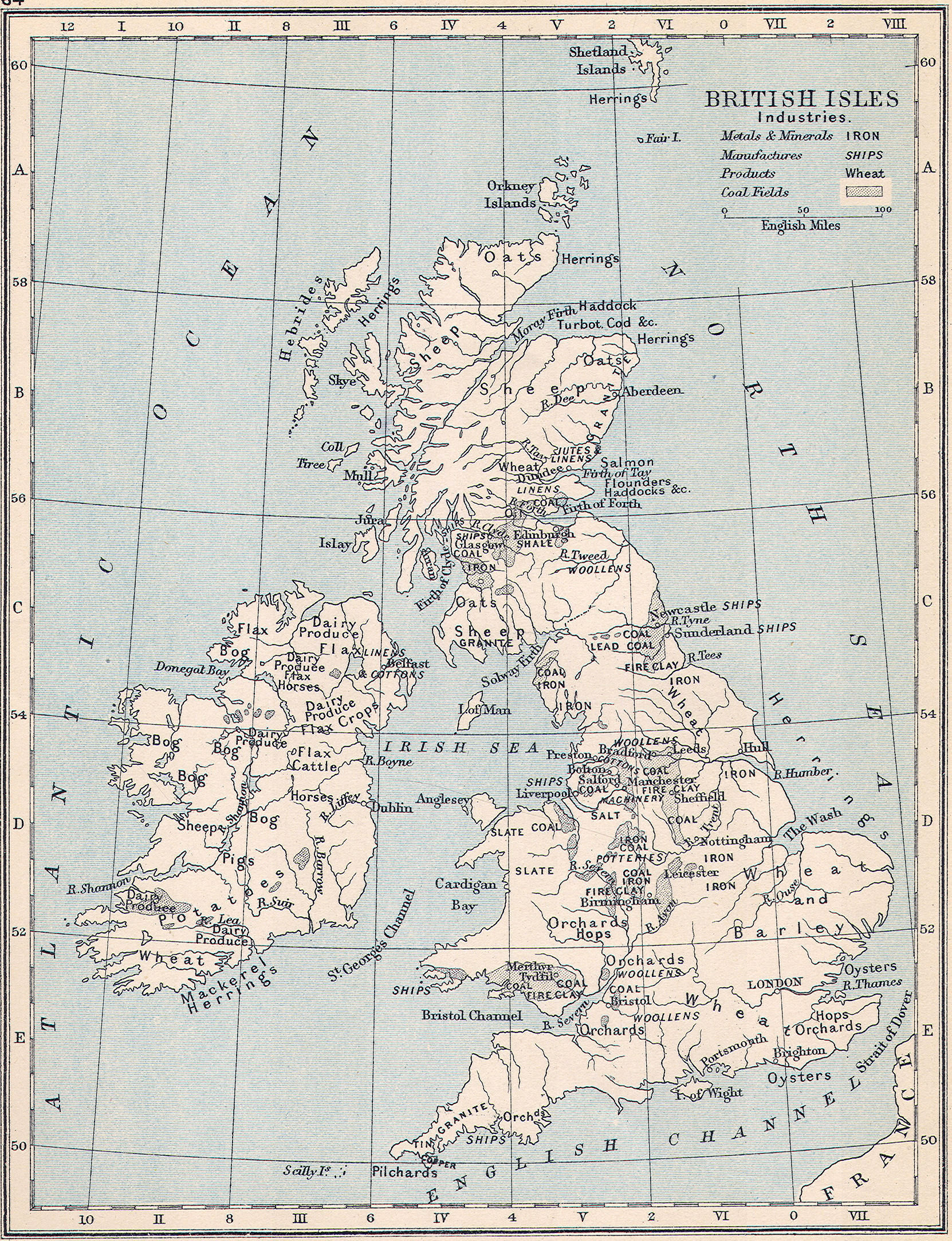 Map Of Victorian England.Map Victorian England