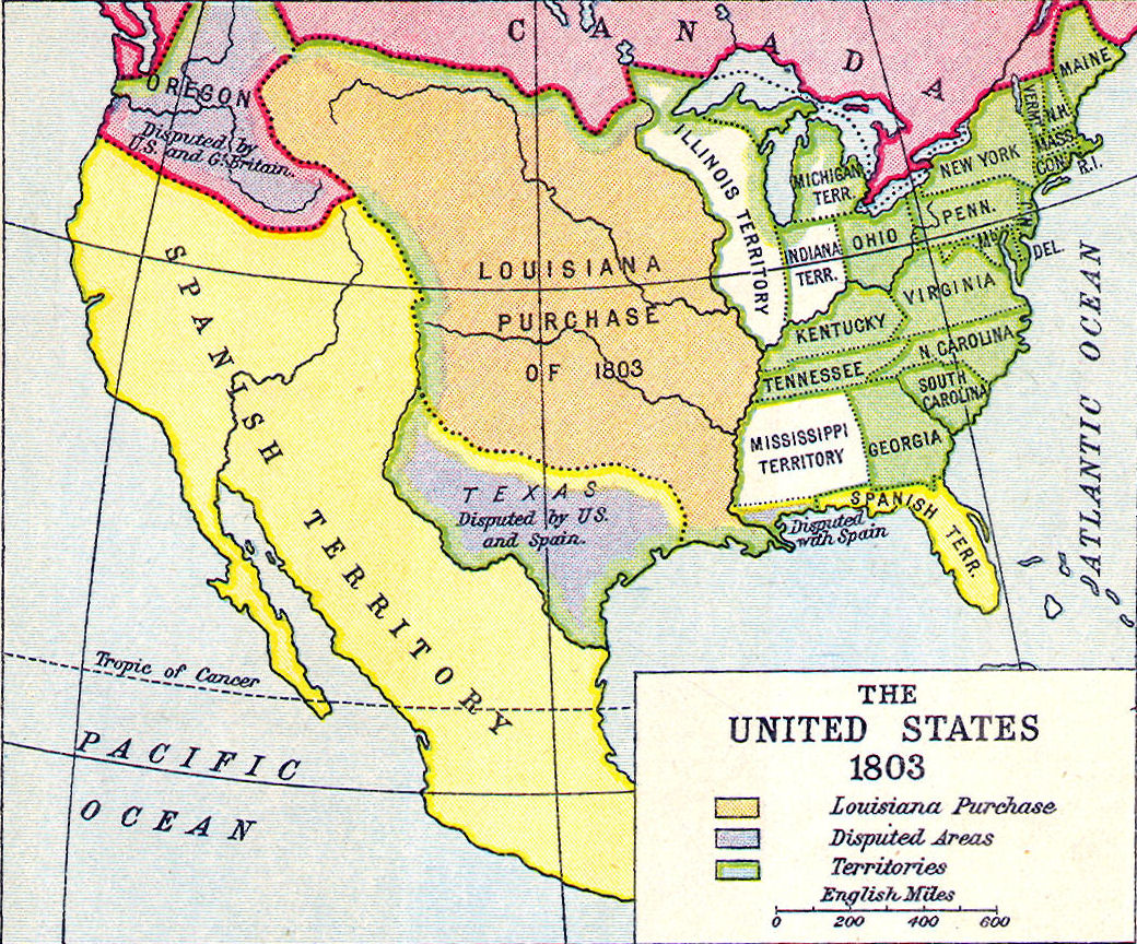 Lewis And Clark Expedition Lessons Tes Teach - Map of the united states before lewis and clark