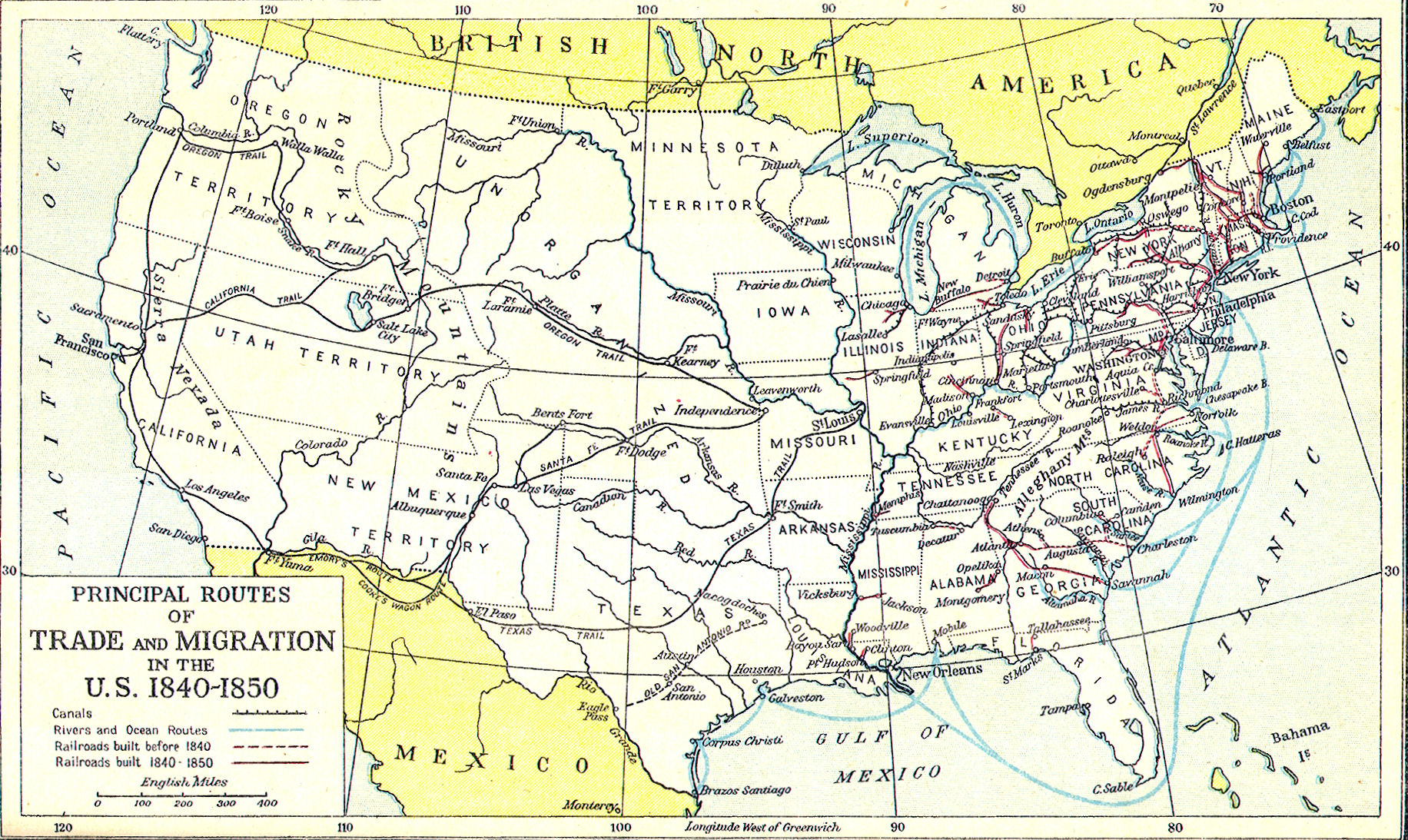 S Pennsylvania Maps FileUnited States Central Map  To - Map of us states in 1800s