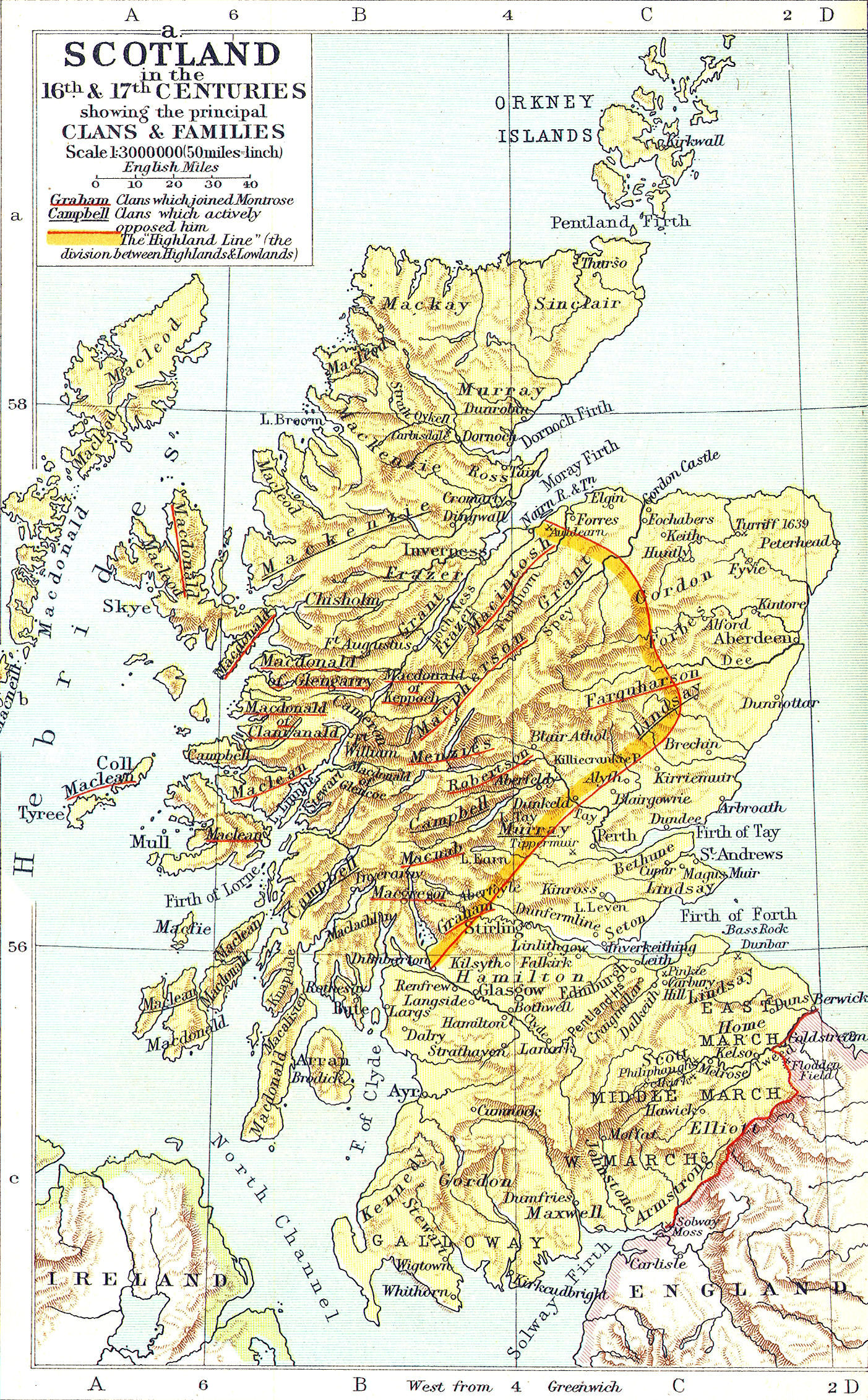 an introduction to the history and geography of scotland Geography the united kingdom england, wales, scotland, and northern ireland england, wales, and scotland also make up great britain much of the north and west of the uk is covered in high ground history the first britons (people who live in the united kingdom.