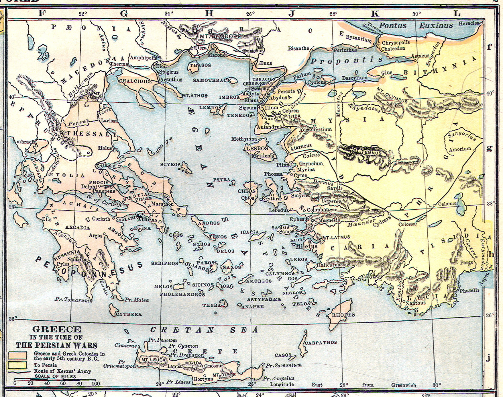 Sea Of Marmara Ancient Greece Map.Ancient Greece Classical Curriculum Heritage History Revision 2