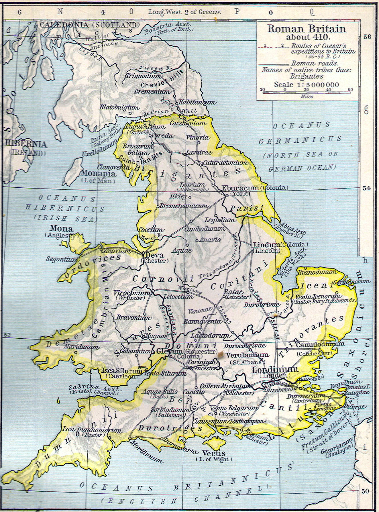 Map Of England 400 Ad.British Middle Ages Classical Curriculum Heritage History Revision 2